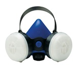 SAS PROFESSIONAL BLUE HALFMASK CARTRIDGE RESPIRATOR